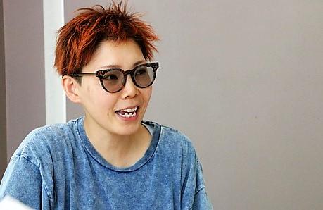 五十川さんインタビュー風景