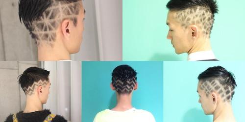 田畑さんの髪型