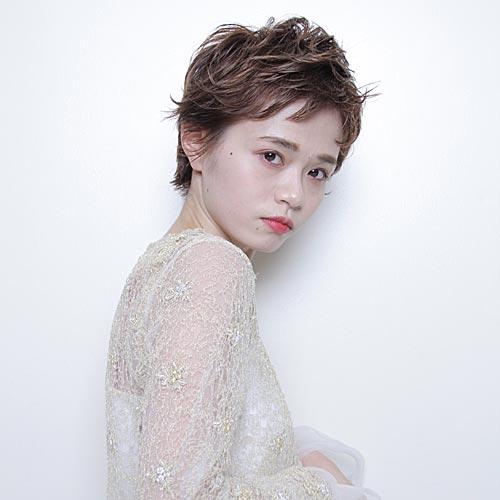 Kaguyahime doui 石黒さんのパーマスタイル