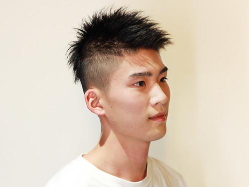 面長のヘアスタイル
