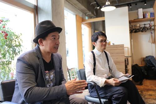 「ノンタッチヘアカラーは美容師として当たり前の責任」、と語る永井さん