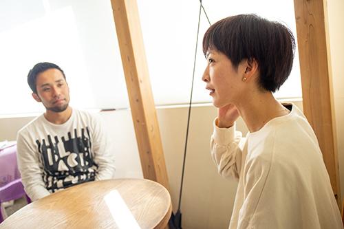 TONAI atil 永井啓之さん×お客様 荒井美子さん