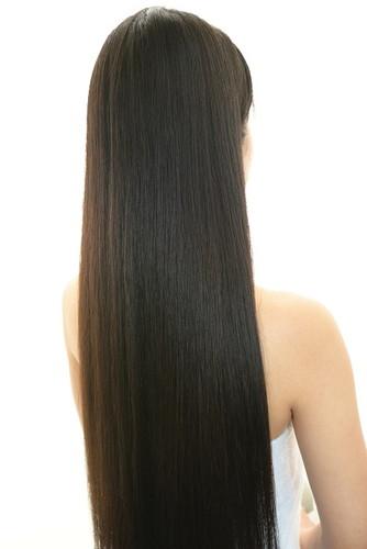 長すぎる髪